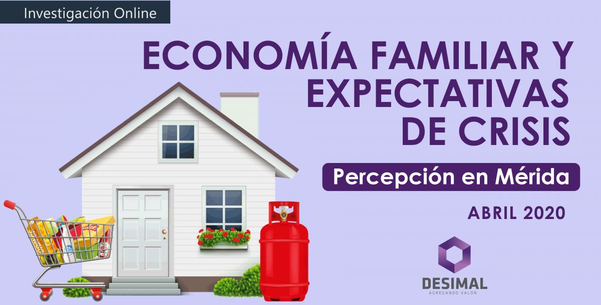 economía familiar y expectativas de crisis