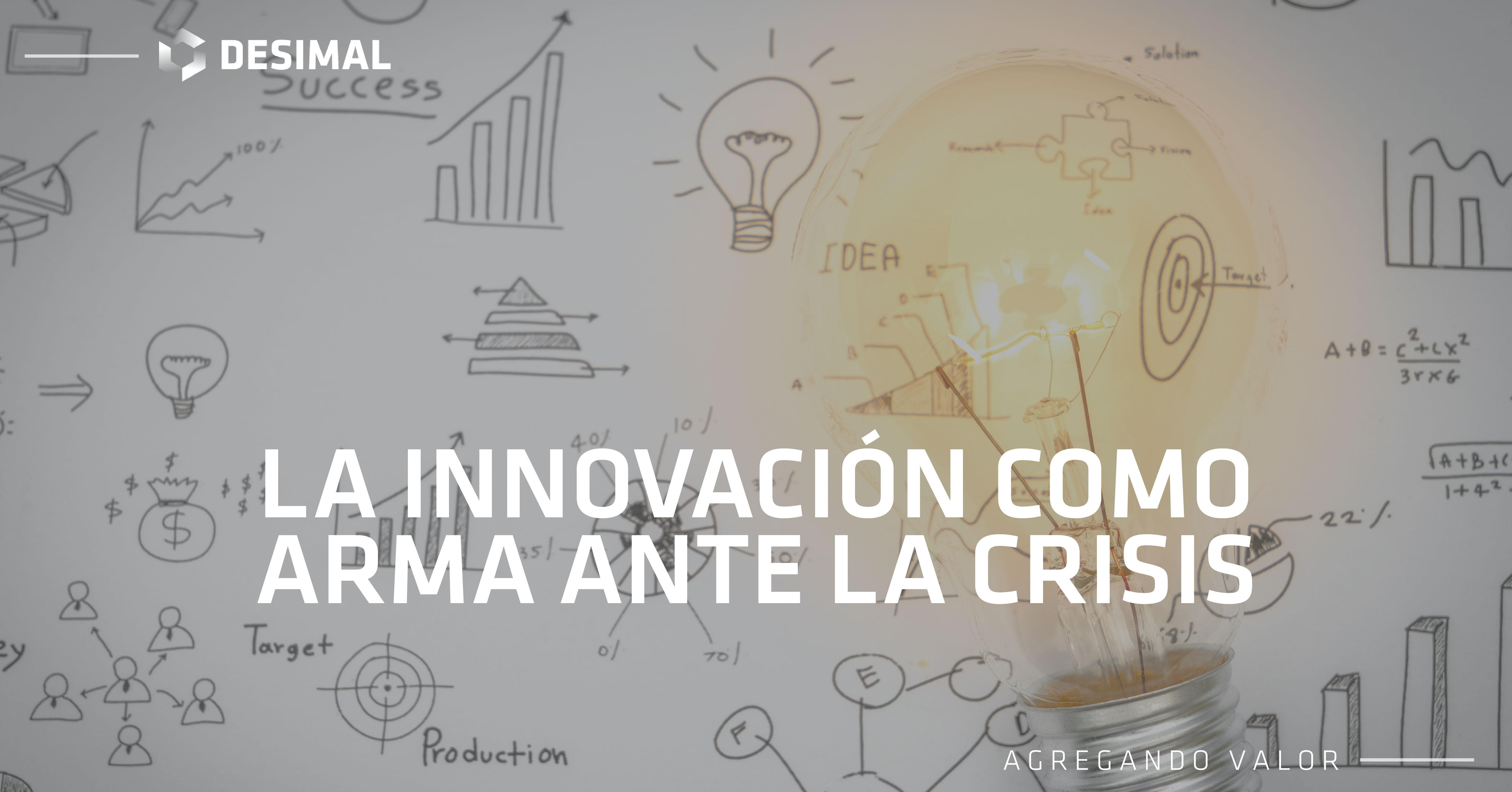 Innovación: tu arma apara la crisis
